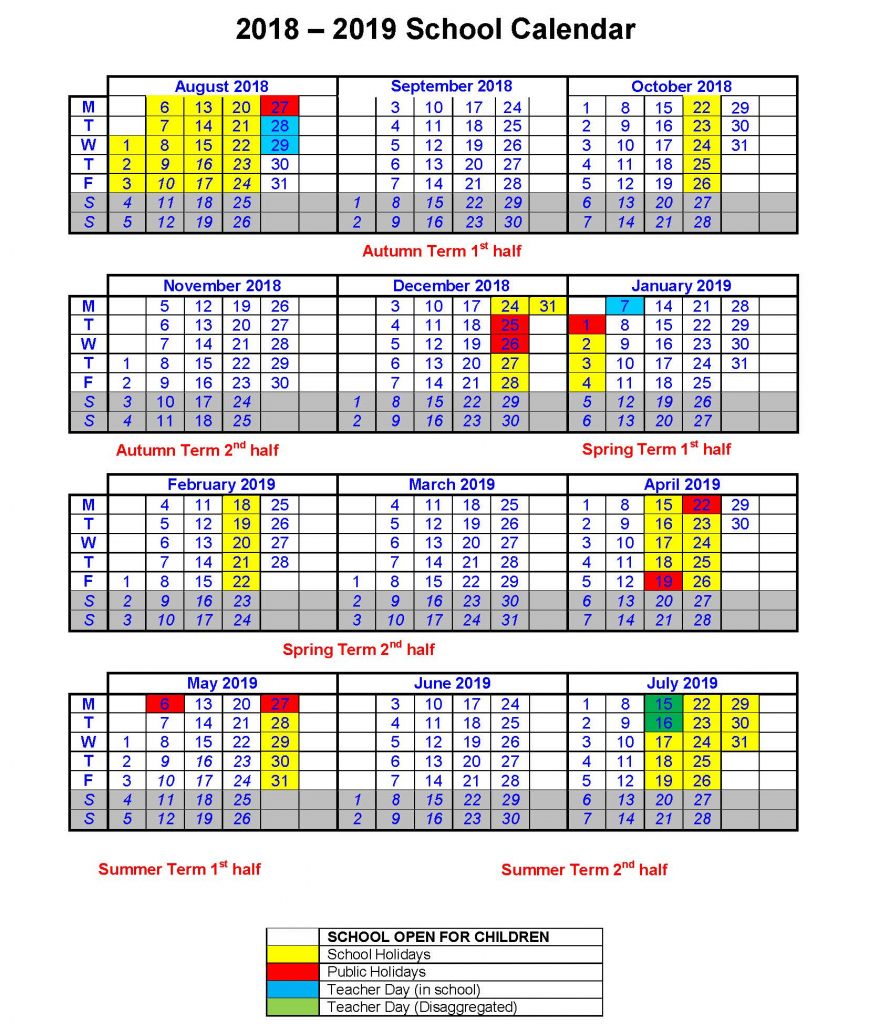 Term Dates - Thurnby Mead Primary Academy | Leicester | TMET
